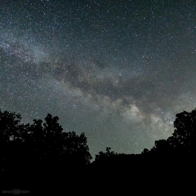 Night skies Nantahala National  - davidrrobinson | ello