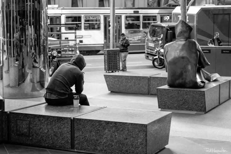 Art imitates life - fujifilm, sculpture - tedhamilton | ello
