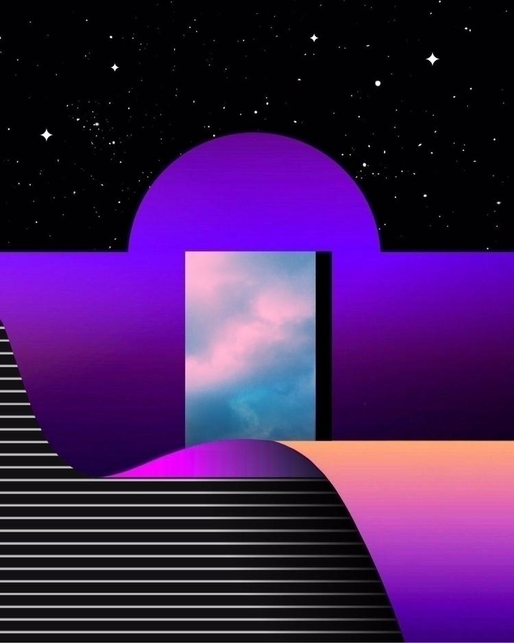 FENÊTRE À VOTRE COEUR - abstract - matthewcustar | ello