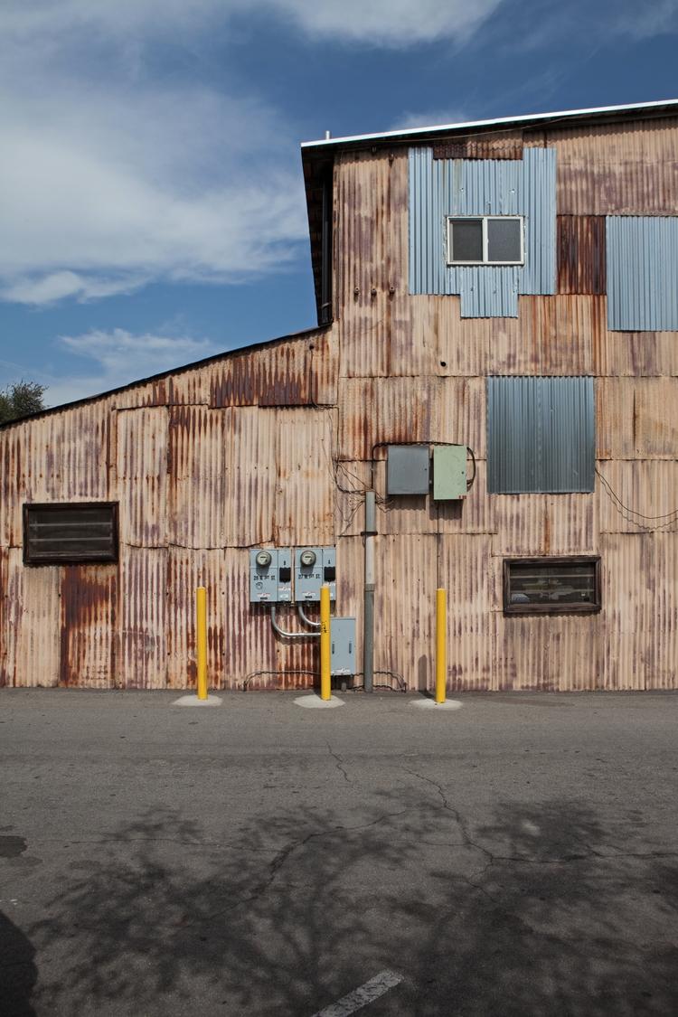Corrugated Shed, Alley 43, Clar - odouglas   ello