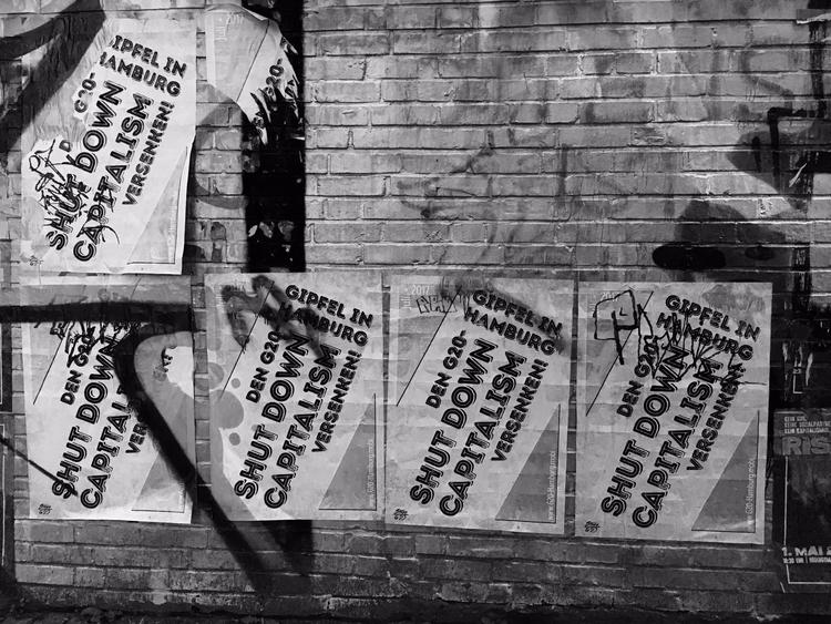 left - G20, streetart,, hamburg, - ring2 | ello