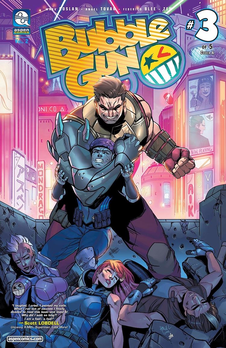 Bubblegun vol.2 Aspen Comics 20 - oosteven | ello