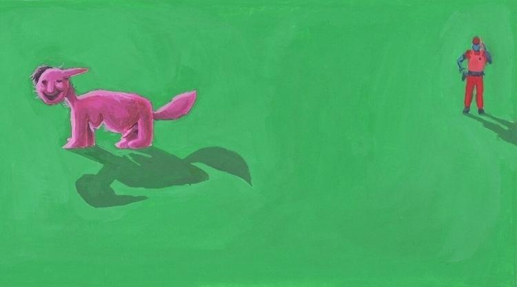 painting, art, gouache, indanger - rseles | ello