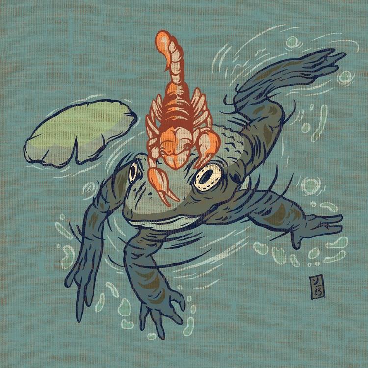 Nature - illustration - thomcat23   ello
