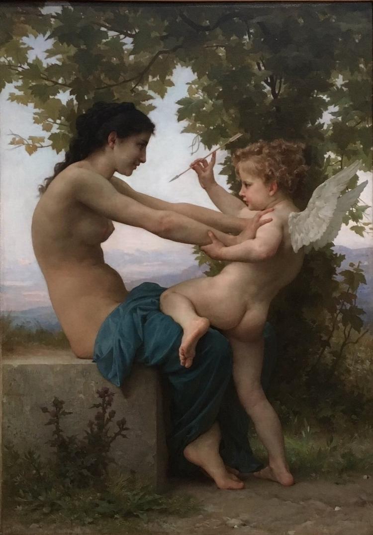 Young Girl Defending Eros Bougu - bitfactory | ello