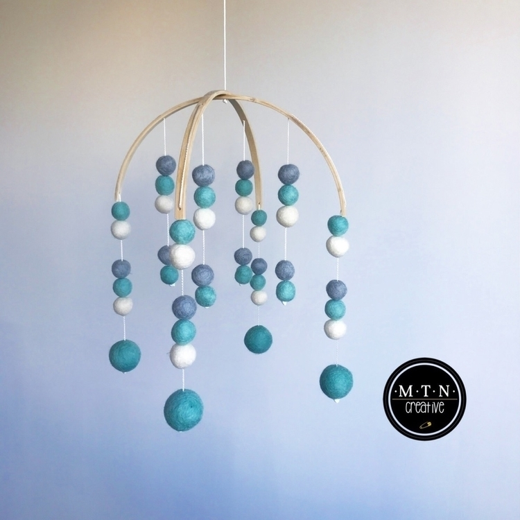 calming Mint, Grey White Mobile - mtncreative | ello