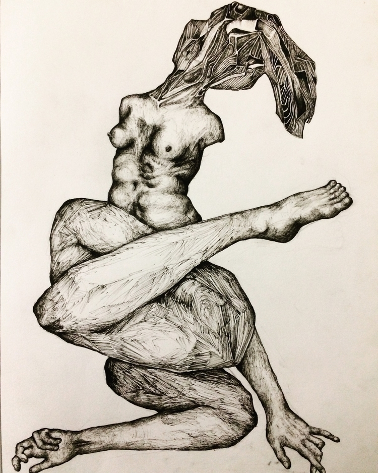 Title: Modern living - pen, ink - jacobbayneartist | ello