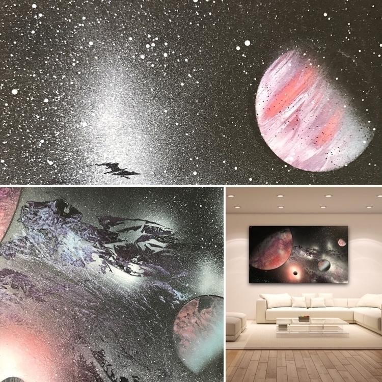 Nebula series working Kiss Drag - iamprophecyart   ello