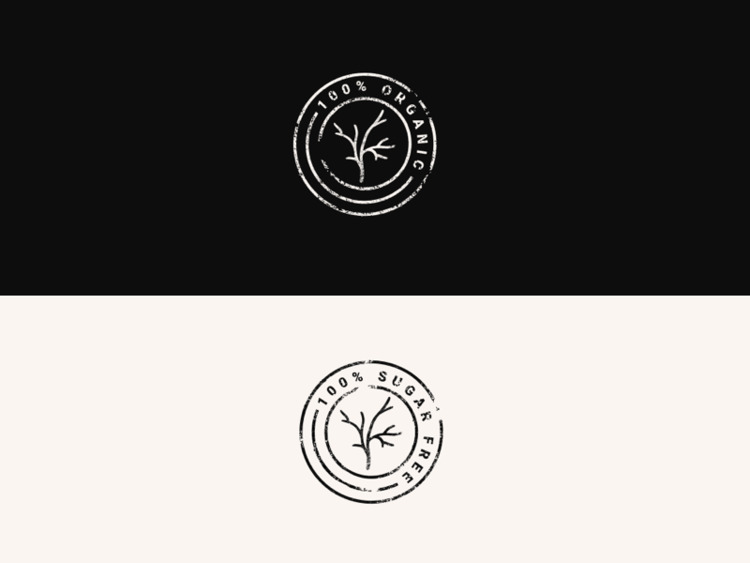 Organic Sugar Free Icons - broodmethod | ello