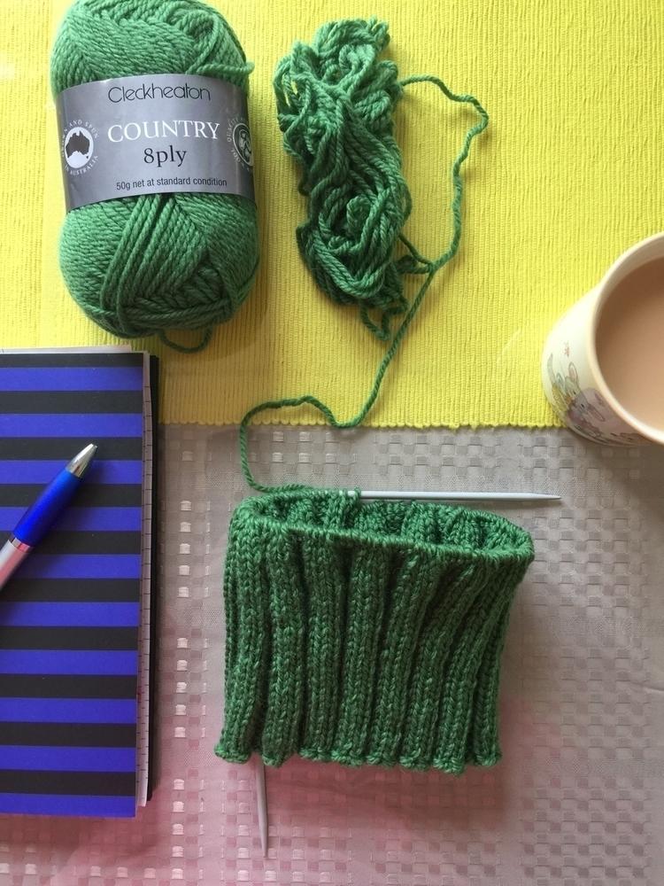 green today beanie Etsy Shop - ellonew - siennaknits | ello