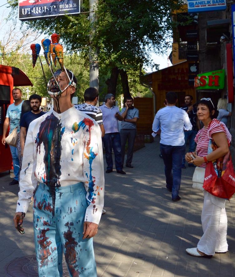 Melting Borders Yerevan, Armeni - matlakas   ello