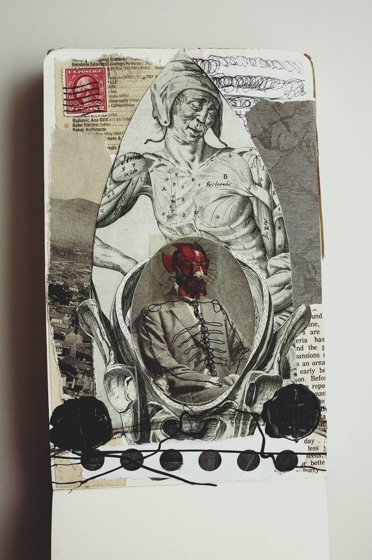 Collage Moleskine Alvaro Sánche - sanchezisdead | ello