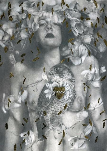 'Aeon' Patricia Ariel, print re - geekynerfherder | ello