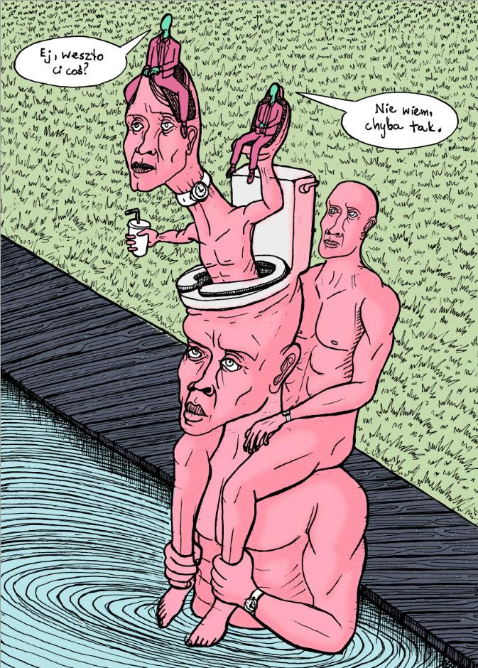 - hit Dunno - illustration, poster - kredenswproszku | ello