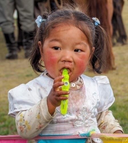 Cute Mongolian child Nadaam - Mongolia - etbtravelphotography | ello