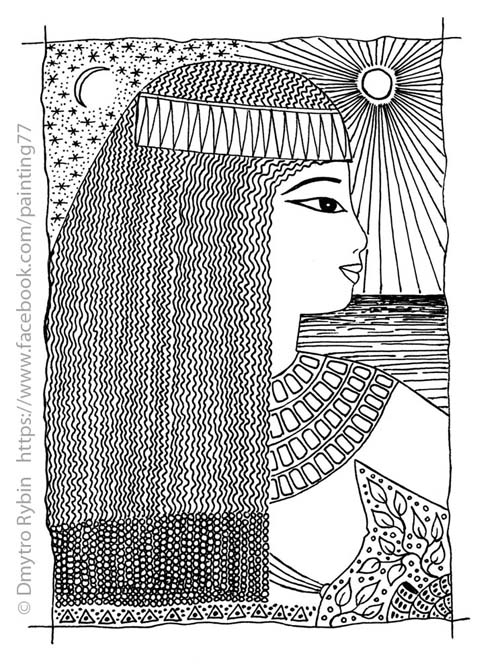 Woman Egyptian style - woman, girl - dmytroua | ello