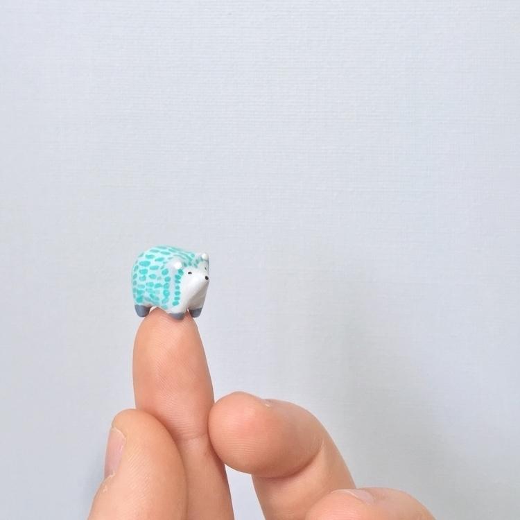 Mini Heggie - polymerclay, art, sculptor - undergrowthgoods | ello