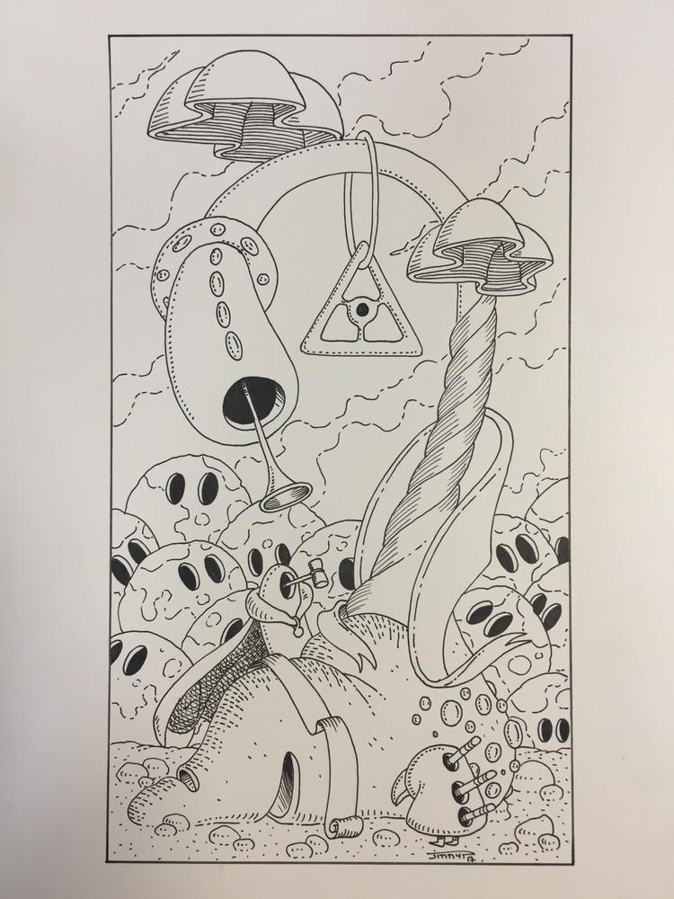 XX - le jugement / judgement - illustration - jimmy-draws | ello
