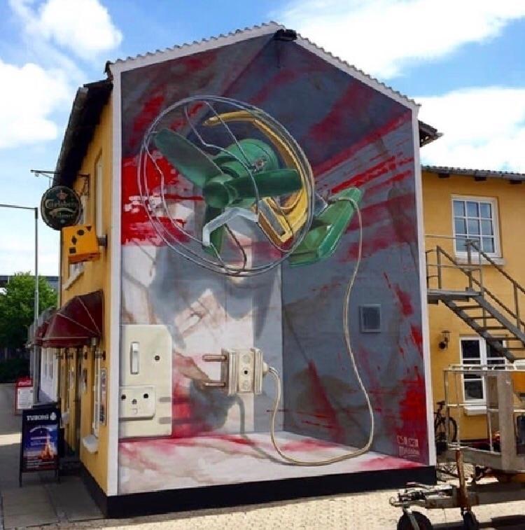 3d street art Leon Keer Marije  - streetartunitedstates   ello