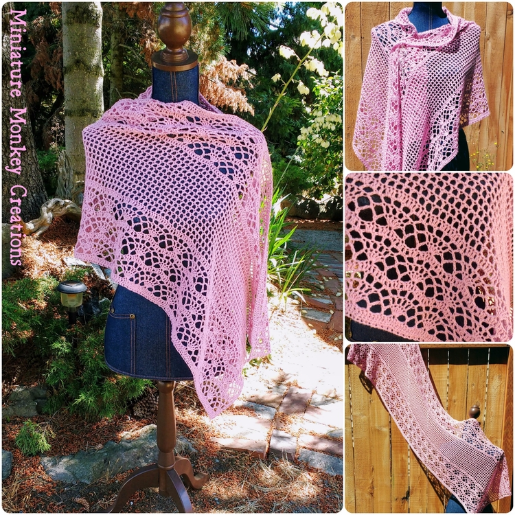 added couple custom shawls albu - miniaturemonkeycreations | ello