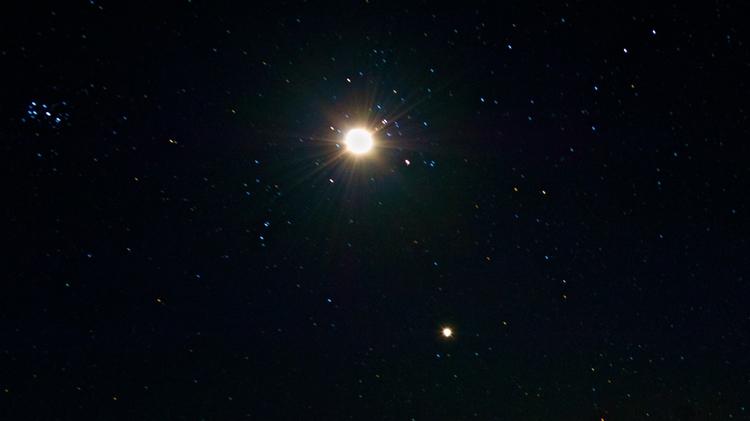 Moon Venus Conjunction - yeeehah | ello