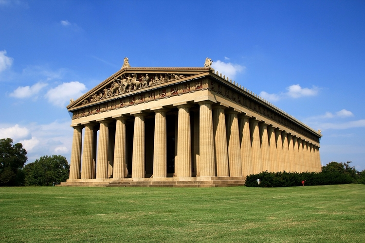 Full-Scale Replica Parthenon Na - valosalo | ello