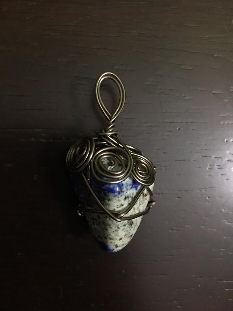 Lapis Lazuli Handcrafted wire w - maggies0817 | ello