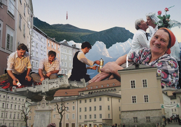 /Euro vibe - collageart, collage - samsworld | ello
