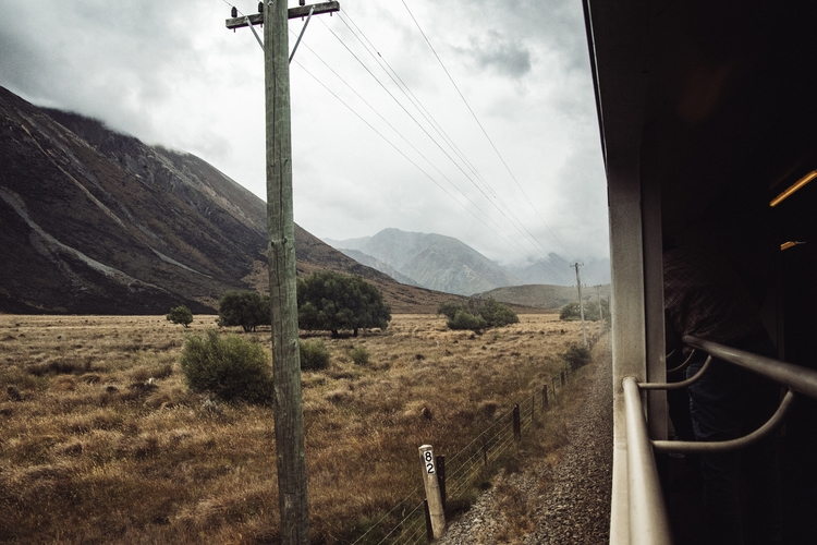 Travelling train Southern Alps - lancaster | ello
