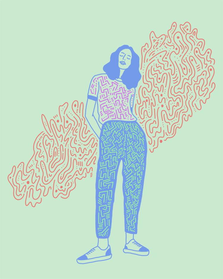 Loungin - illustration, illustrator - heybop   ello