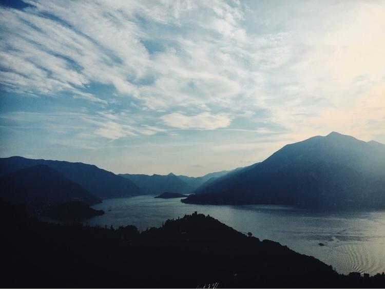 Lake Como, Italy. Vezio Castle  - andreameli | ello