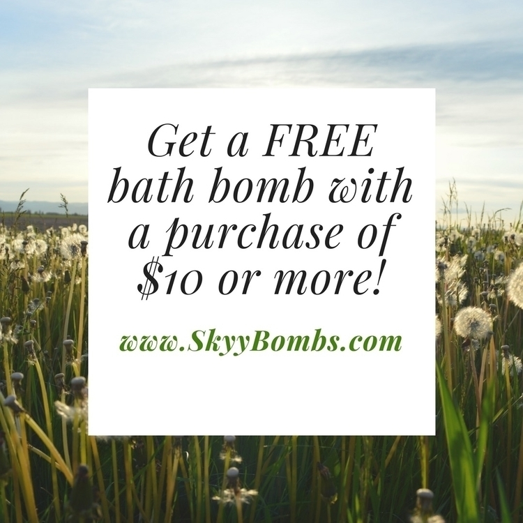 bathbombs, bathfizzy, bathbomb - skyybombs | ello