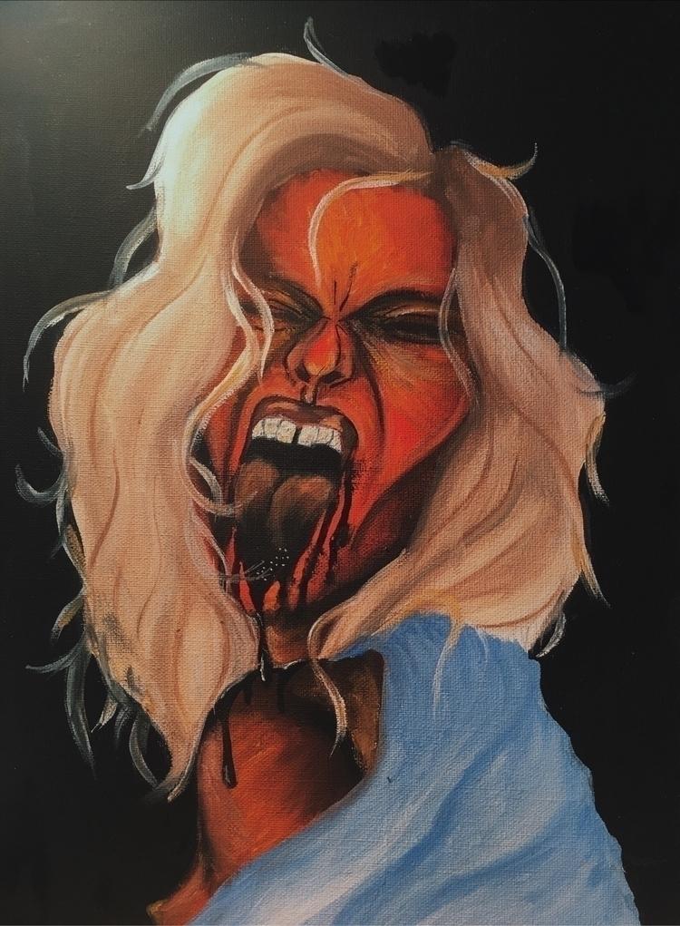 underskin series - art, artist, artlover - paulinemonet | ello