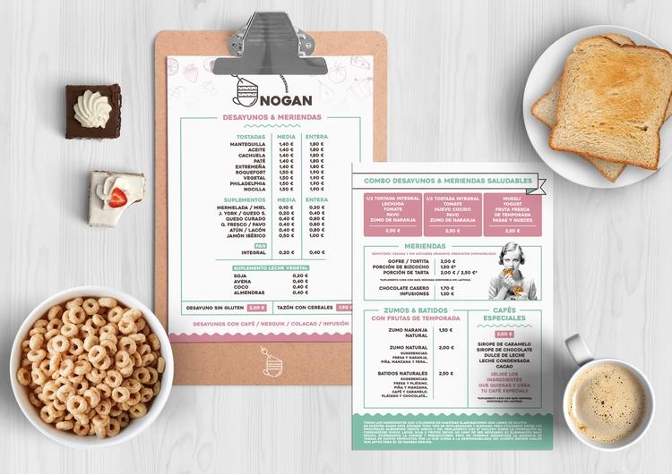 Cafetería NOGAN - Branding - srta_hermosell | ello