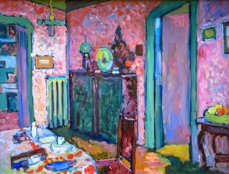 Interior Wassily Kandinsky 1909 - bitfactory | ello