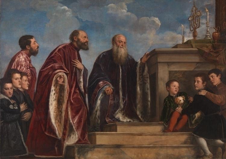 Vendramin Family Titian - titian - bitfactory | ello