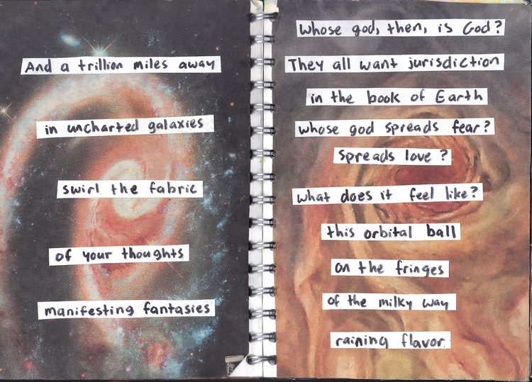 College rough. collage journal - hedowitz | ello