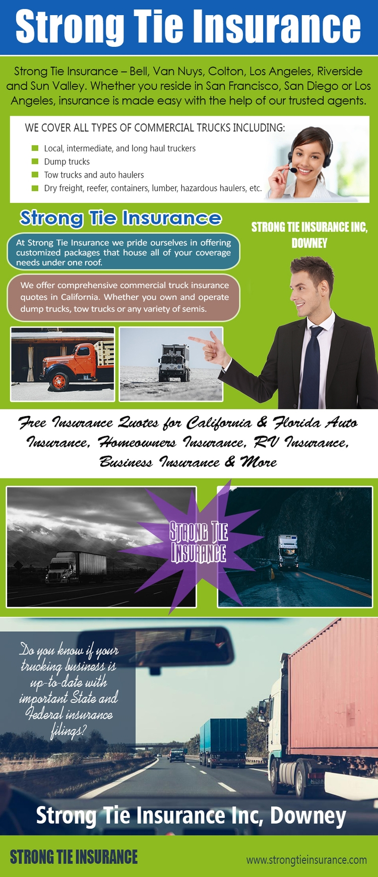 Strong Tie Insurance Downey Sit - strongtiecommercialtruckinginsurance | ello