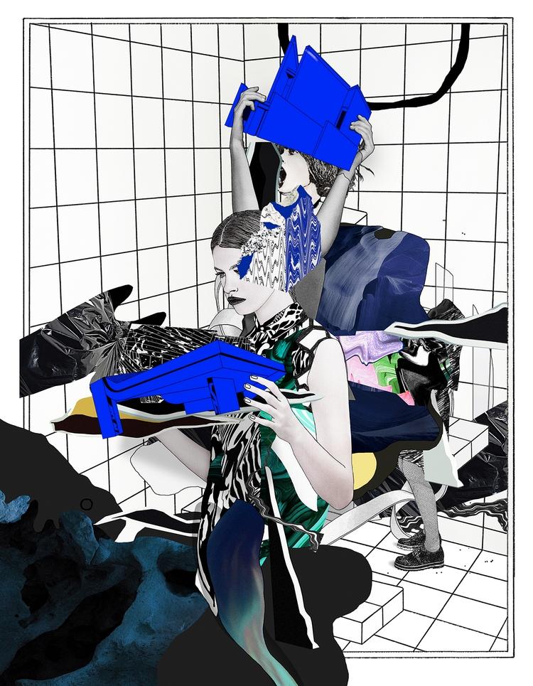 wistful,, illustration,, print, - cityabyss | ello