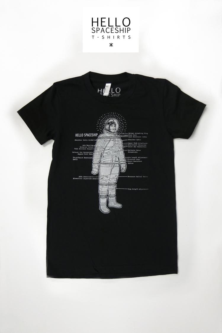 Astronaut Spaceship - hellospaceship | ello