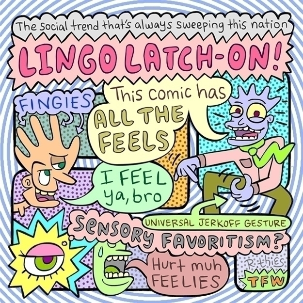 Lingo - post90s, alternative, comix - rthies | ello