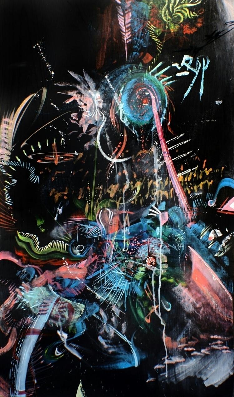 Automatic Painting live paintin - bevinrichardson | ello