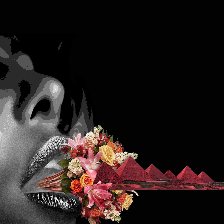 flowermouth. ||  - collage, collageart - pierrexo | ello