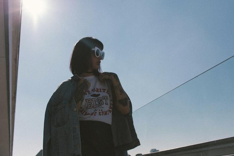 Editorial Fashion Grunge Magazi - brunahissae | ello