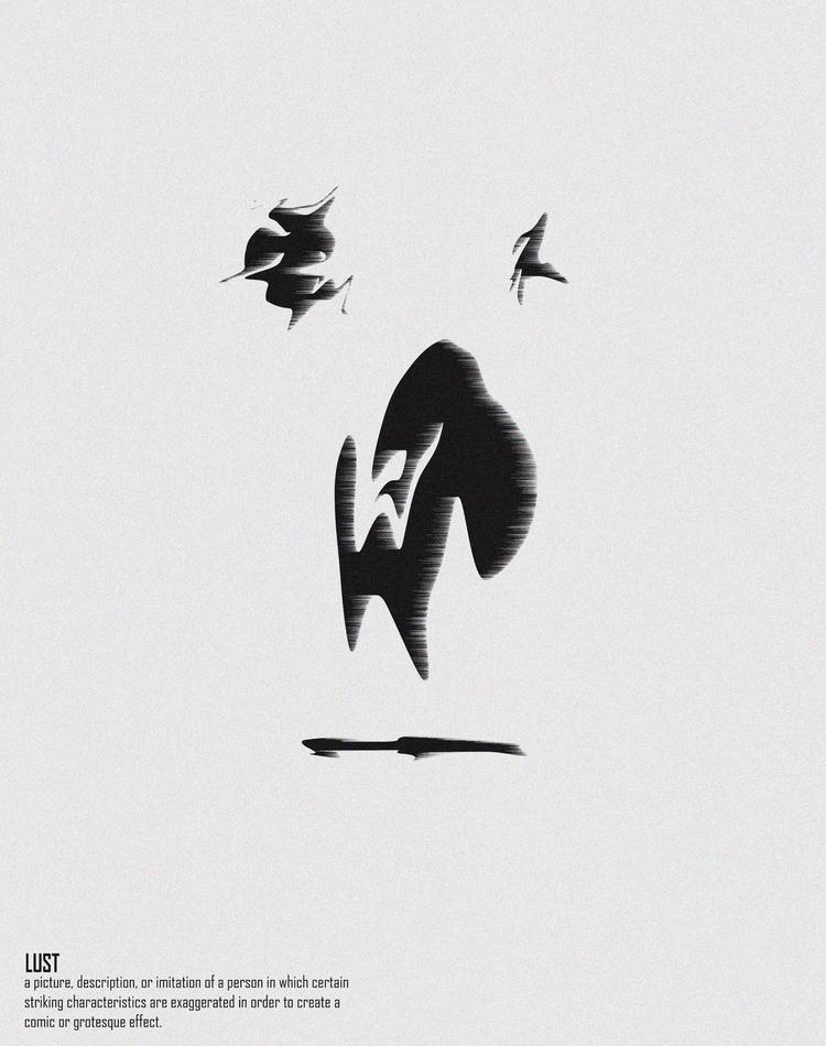 Lust - design, illustration - emmanuelachusim | ello
