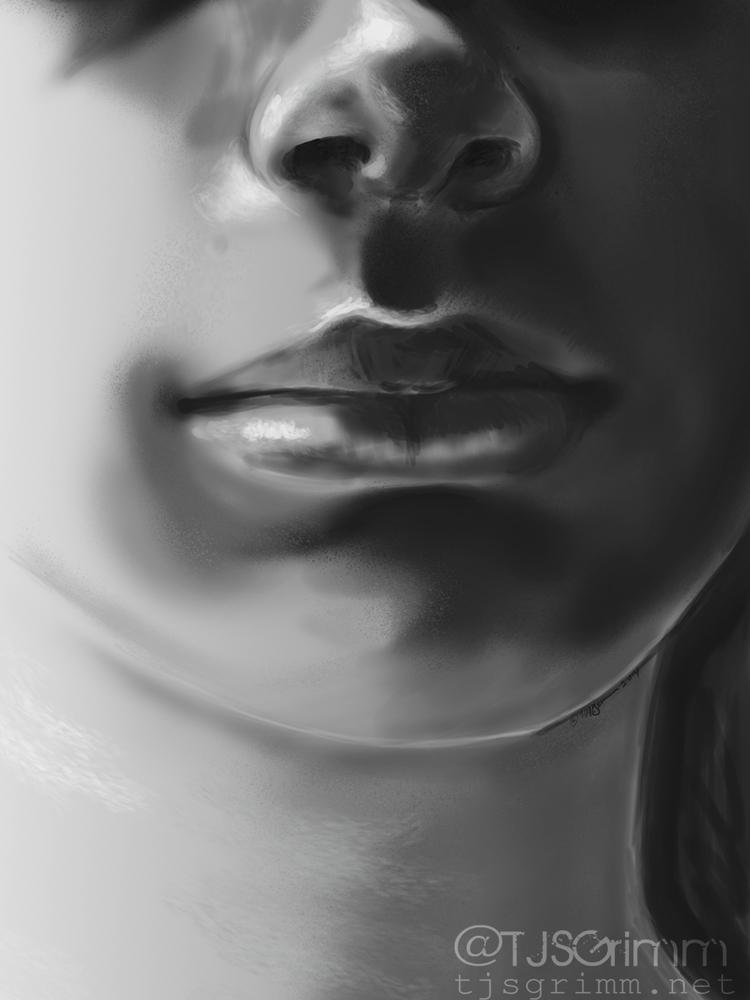 studies facial anatomy. Image r - tjsgrimm | ello