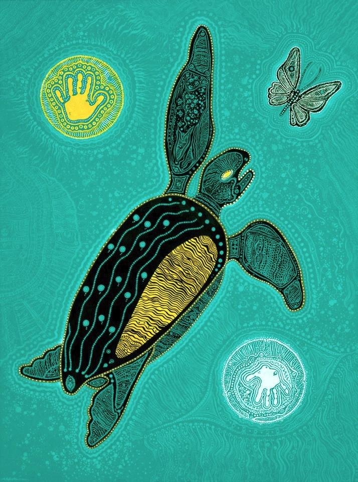 Butterfly Sea Turtle. 68 Inches - micksylvestre | ello