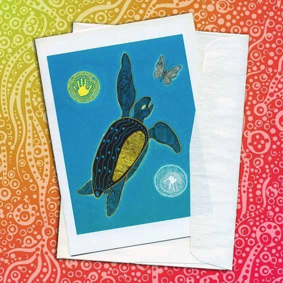 Blank Card glow dark - micksylvestre | ello