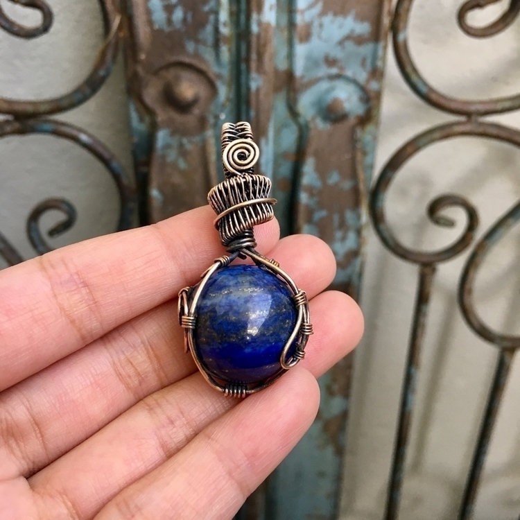 :blue_heart:Lapis Lazuli wrappe - lotusislandtreasures | ello