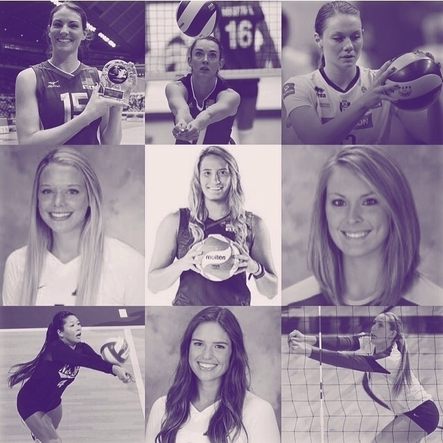 women volleyball talents sport  - coolfreedude | ello